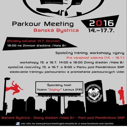 Plagát PKMBB 2016